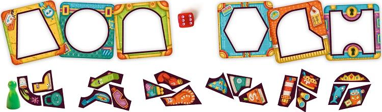 Карточки игры Багагаж.