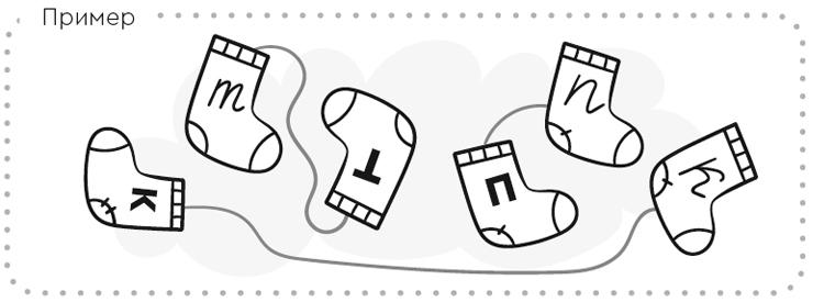 Задание на знание букв из тетради Буквы и чтение.