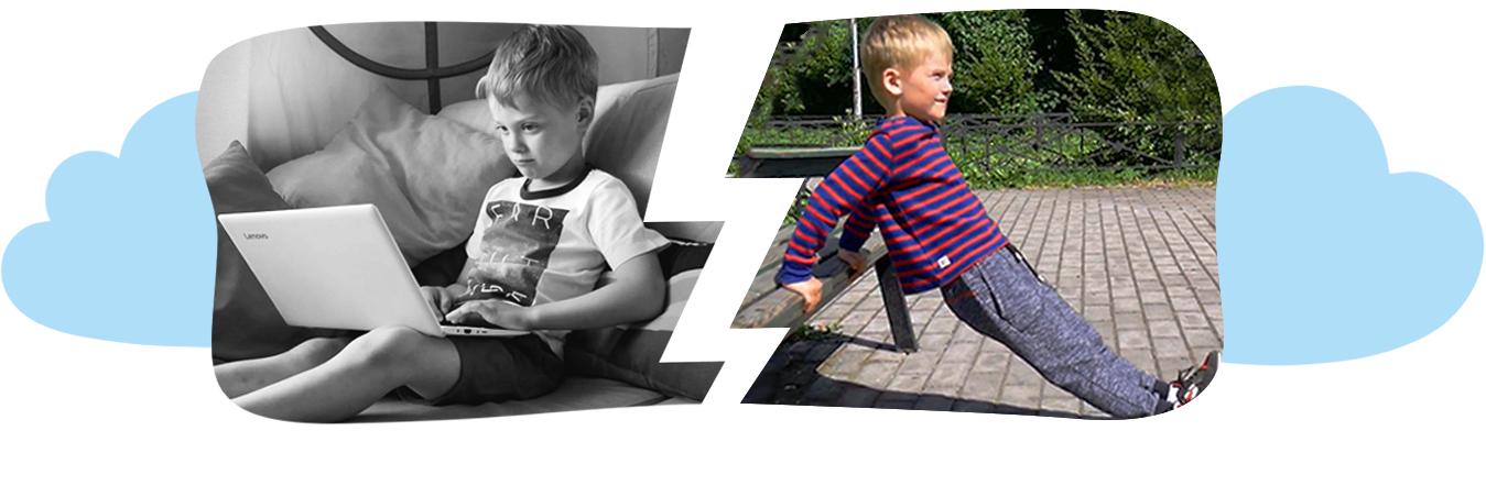 Дети выбирают спорт вместо гаджетов.