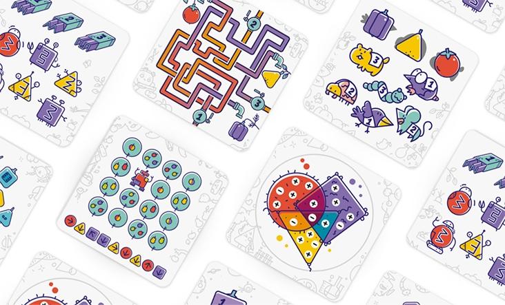 Карточки игры X-Ферма от Банды Умников.